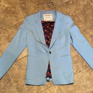 ANTHRO 8 blue blazer